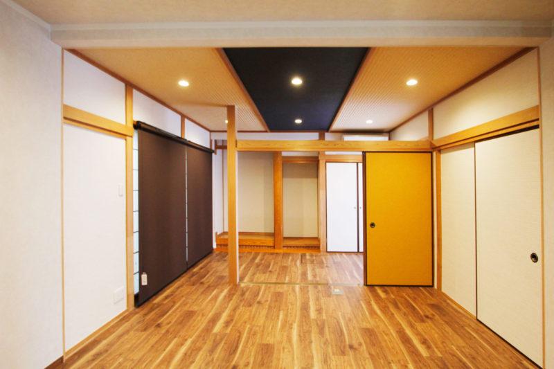 1階の生活スペースを快適にリノベーション【鹿児島市】