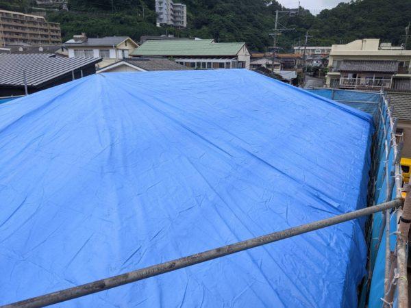 梅雨時期の外装工事